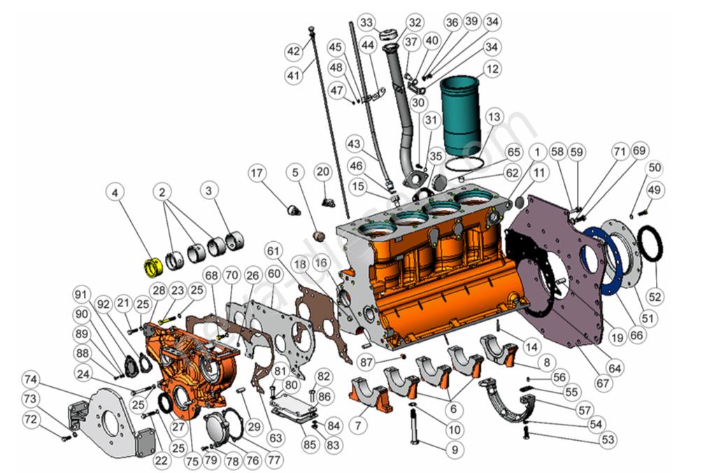 Ремонт двигателя ммз 245 своими руками