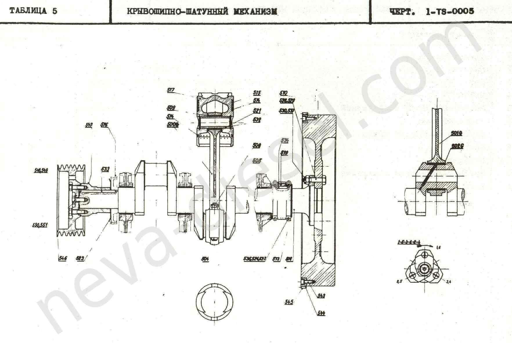 схема двигателя мтлбв