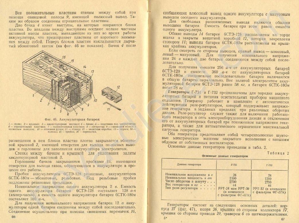 схема дизеля дга 40