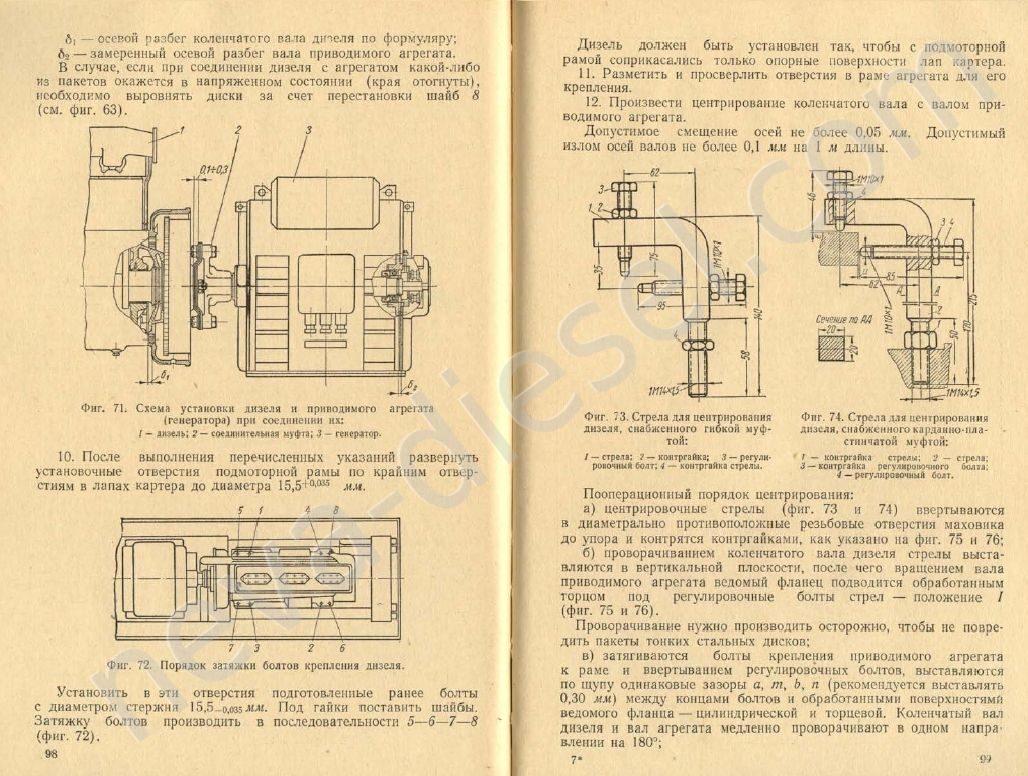 инструкция эксплуатация судового дизеля skl-24