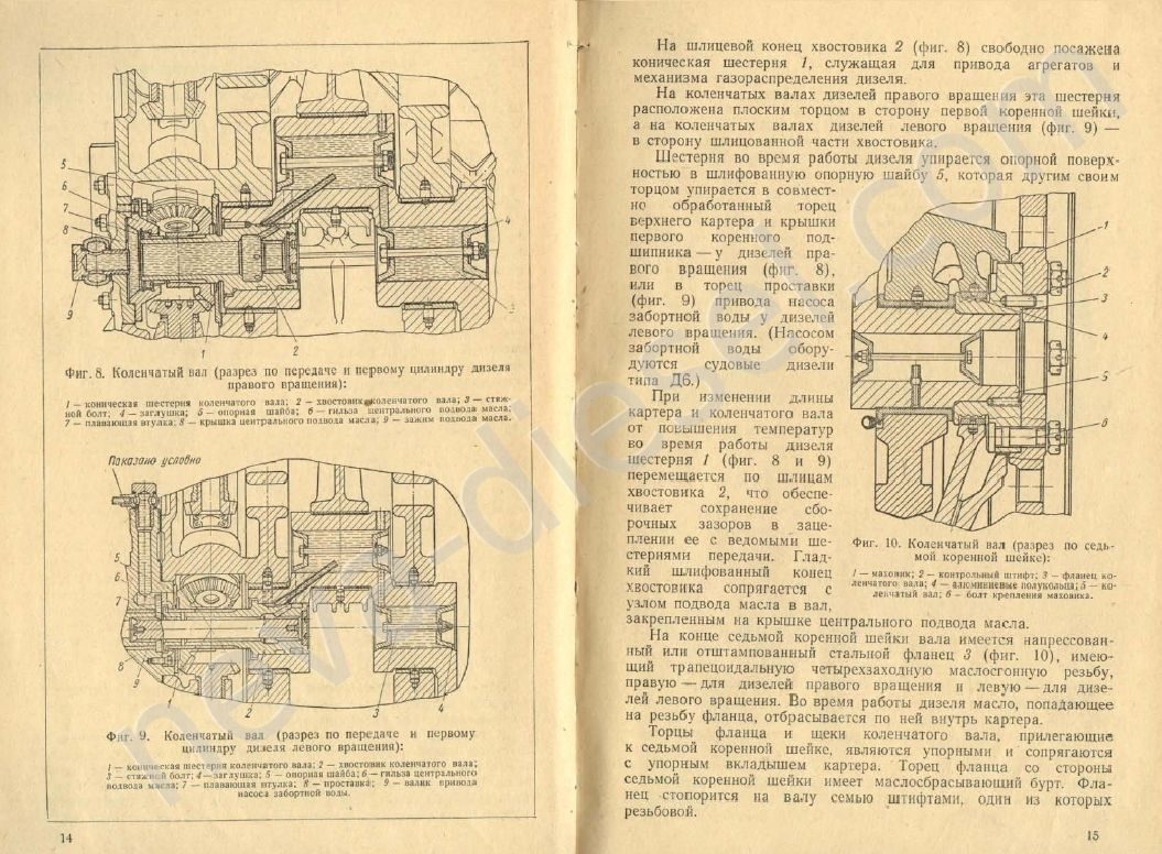 инструкция дизель 4ч8 5 11