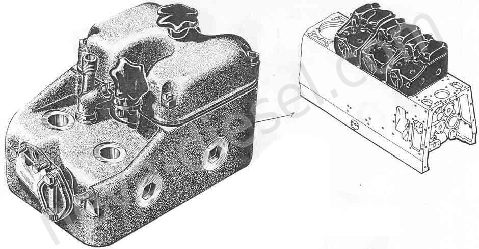 Крышка цилиндра 01-05-3