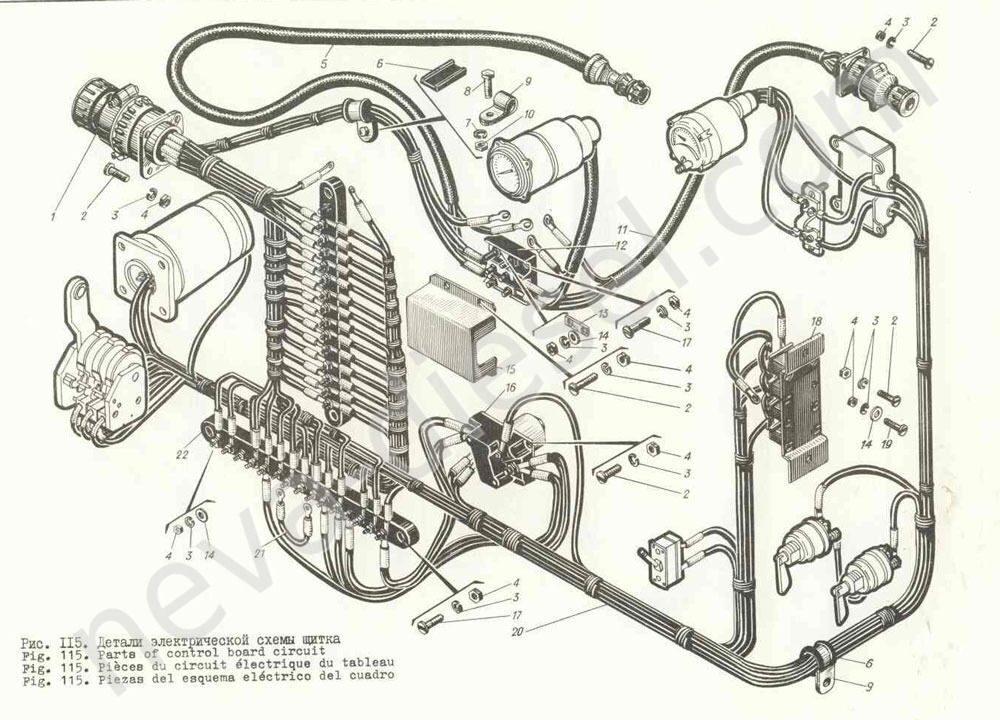 Запасные части двигателя Д6