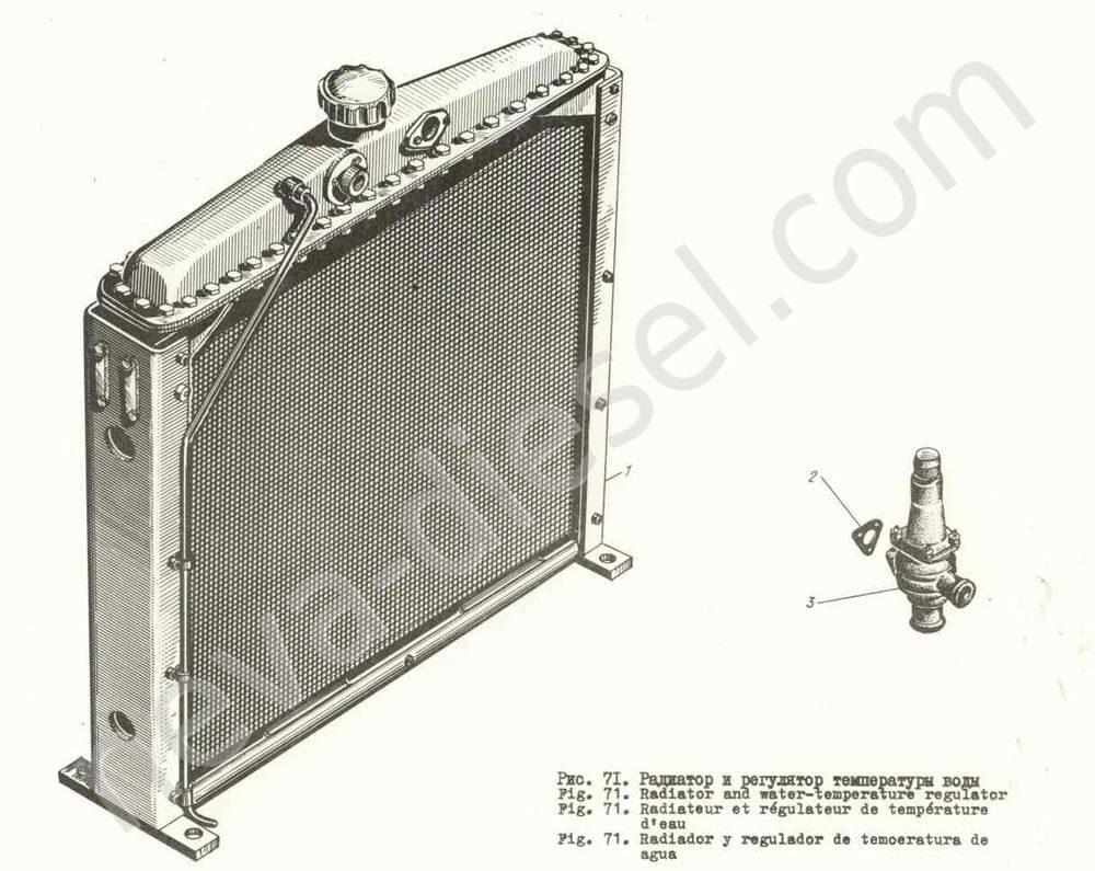 регуляторы температуры в радиаторах схема работы